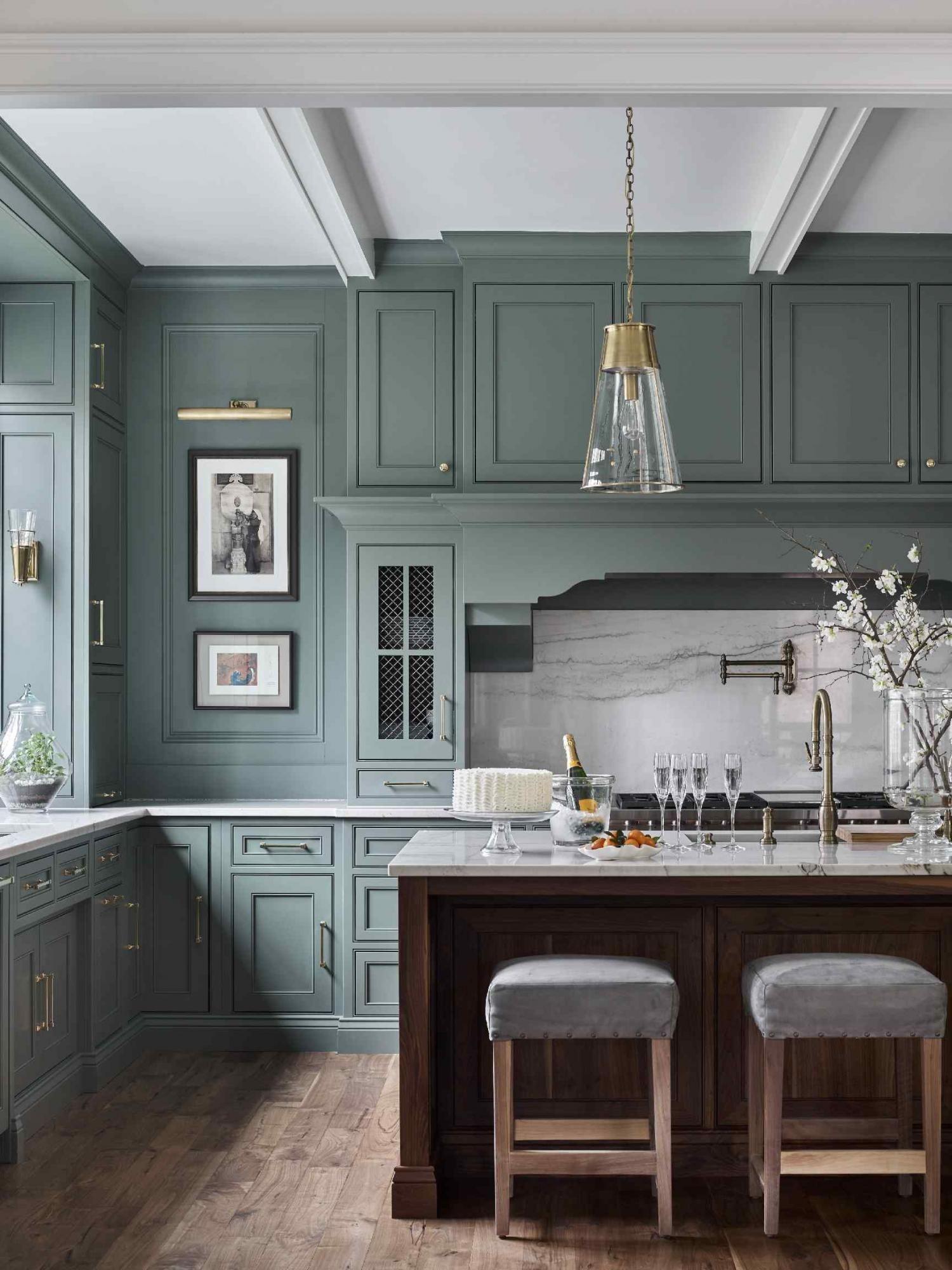 green day in 2020 green kitchen designs kitchen trends interior design kitchen on kitchen interior green id=22733