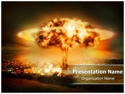 Nuclear bomb explosion powerpoint template is one of the best nuclear bomb explosion powerpoint template is one of the best powerpoint templates by editabletemplates maxwellsz