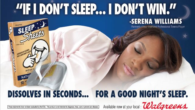 Sleep Sheets Product Launch with Serena Williams