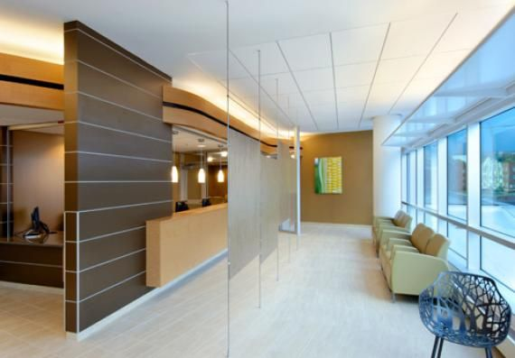 University of kansas hospital authority medical office for Office design kansas city