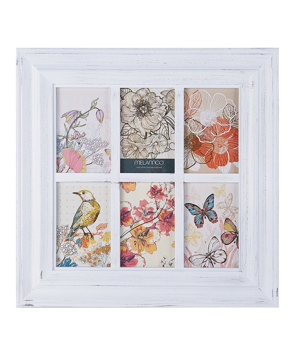 Take a look at this White Six-Photo Window Frame today!   dream home ...
