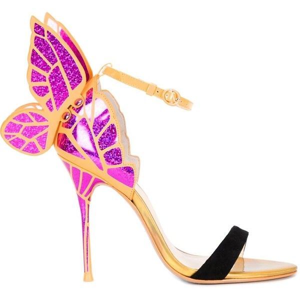 8392fc97b Sophia Webster Chiara Butterfly Sandals (€730) ❤ liked on Polyvore  featuring shoes