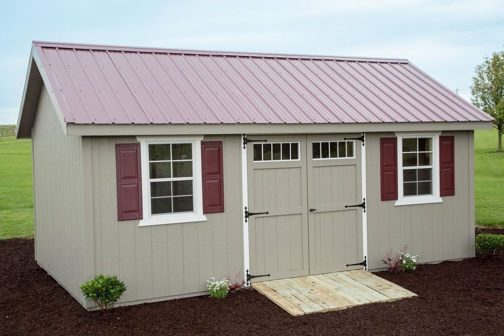 12x20 Shed | A Guide To Buying Or Building A 12x20 Shed   Byler Barns  #Tipsforbuildingashed
