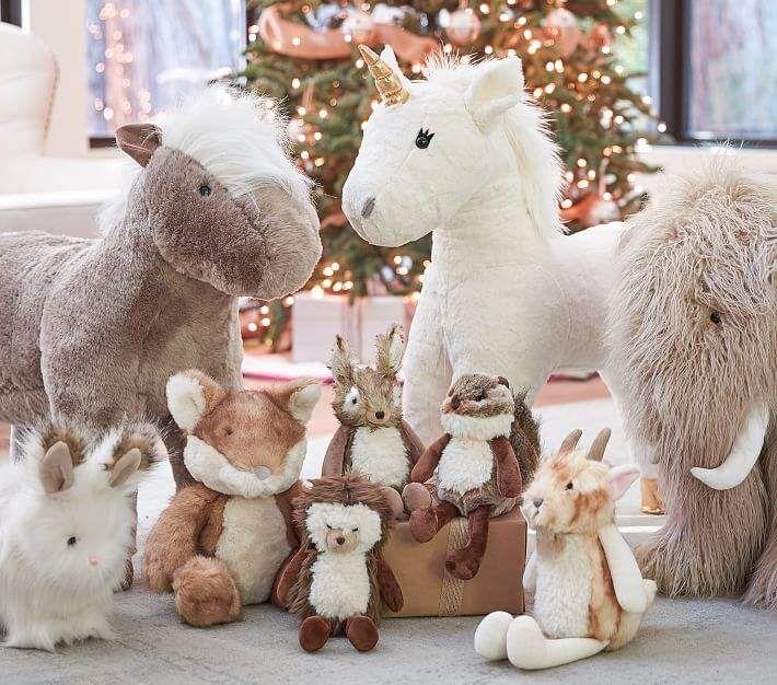 Pottery Barn Kids Woolly Mammoth Jumbo Nursery Plush Kids