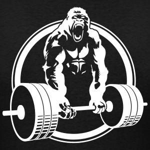 Pin By Raihan Eka On Patterns Gorilla Gym Gym Tshirts Gym Poster
