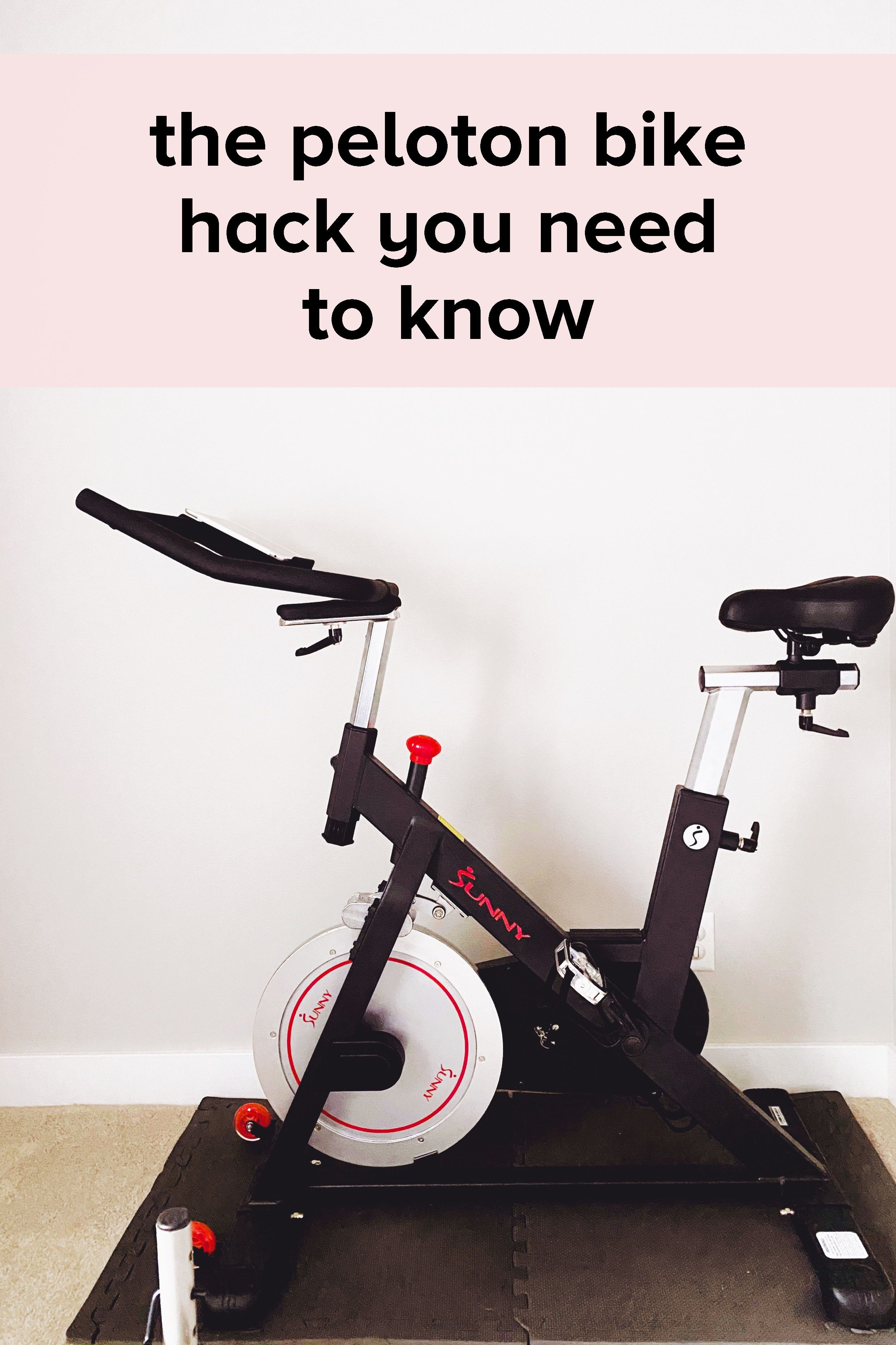 Peloton Bike Hack In 2020 Home Exercise Routines At Home Workouts Biking Workout