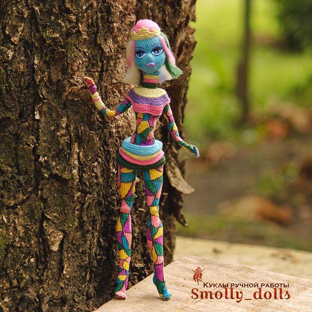 Вязаные куклы в Instagram: «Заканчиваю с показом этой ...