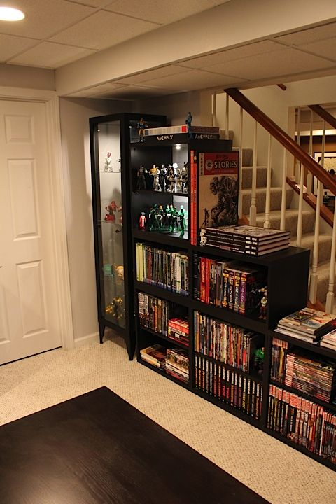 Shelves by shawn hoklas reposted from comicbookresources for Comic book box shelves