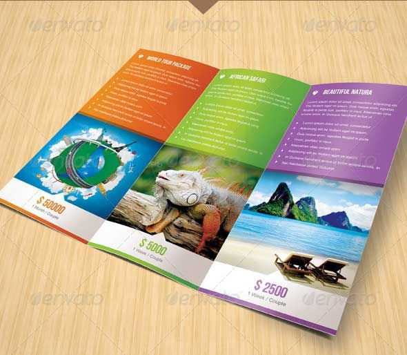 Travel Brochure Templates   Download In Psd Vector Eps