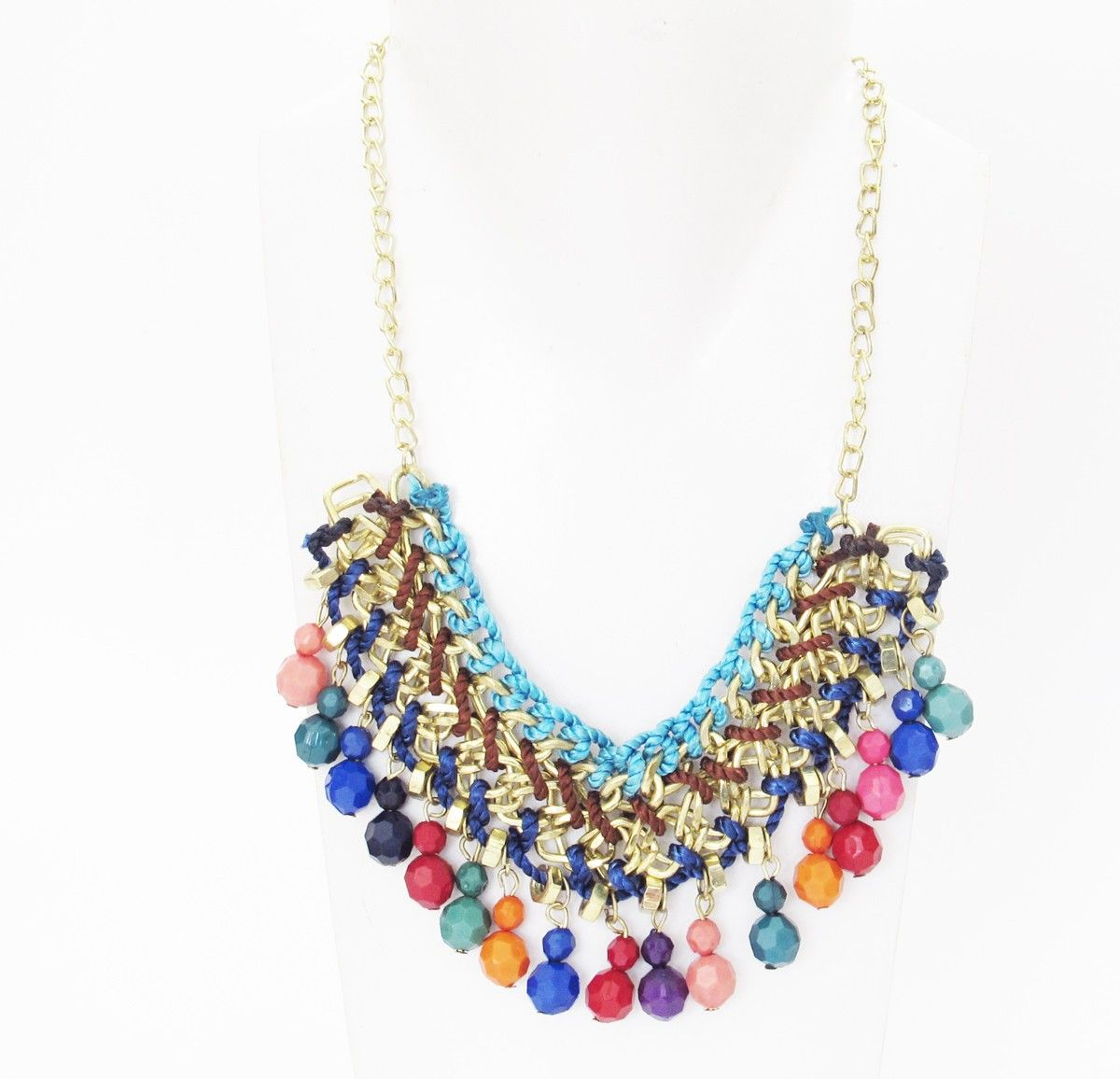 collier fantaisie indien