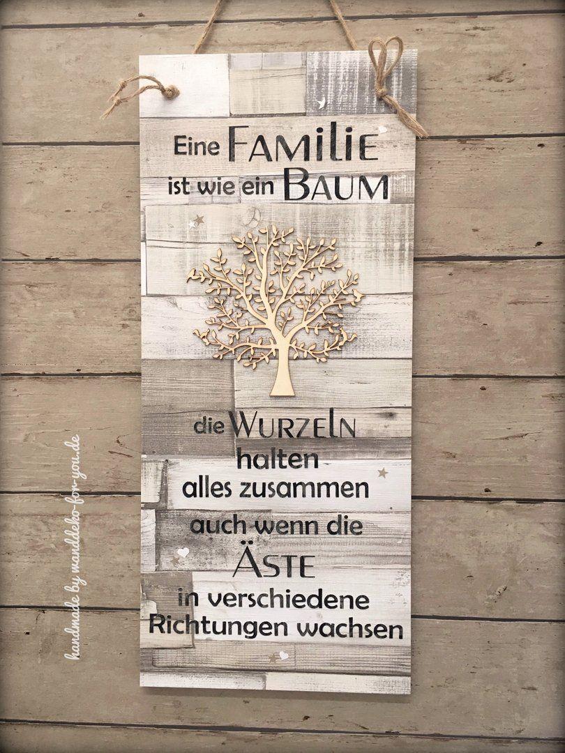 Familie ist wie ein Baum (XXL)