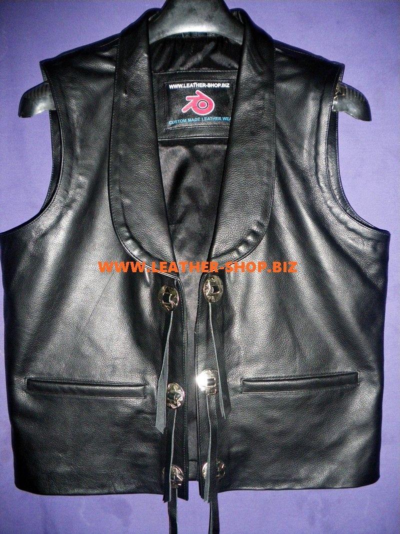 Mens Leather Vest Bonanza Style Mlv75 Mens Leather Vest Leather Vest Leather Waistcoat [ 1067 x 800 Pixel ]
