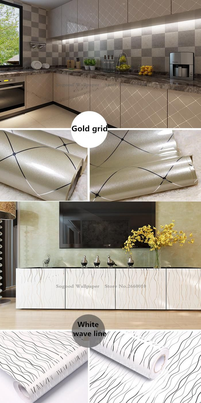Visit To Buy Kitchen Furniture Decoration Renovation Self Adhesive WallpaperSimple DIY Home