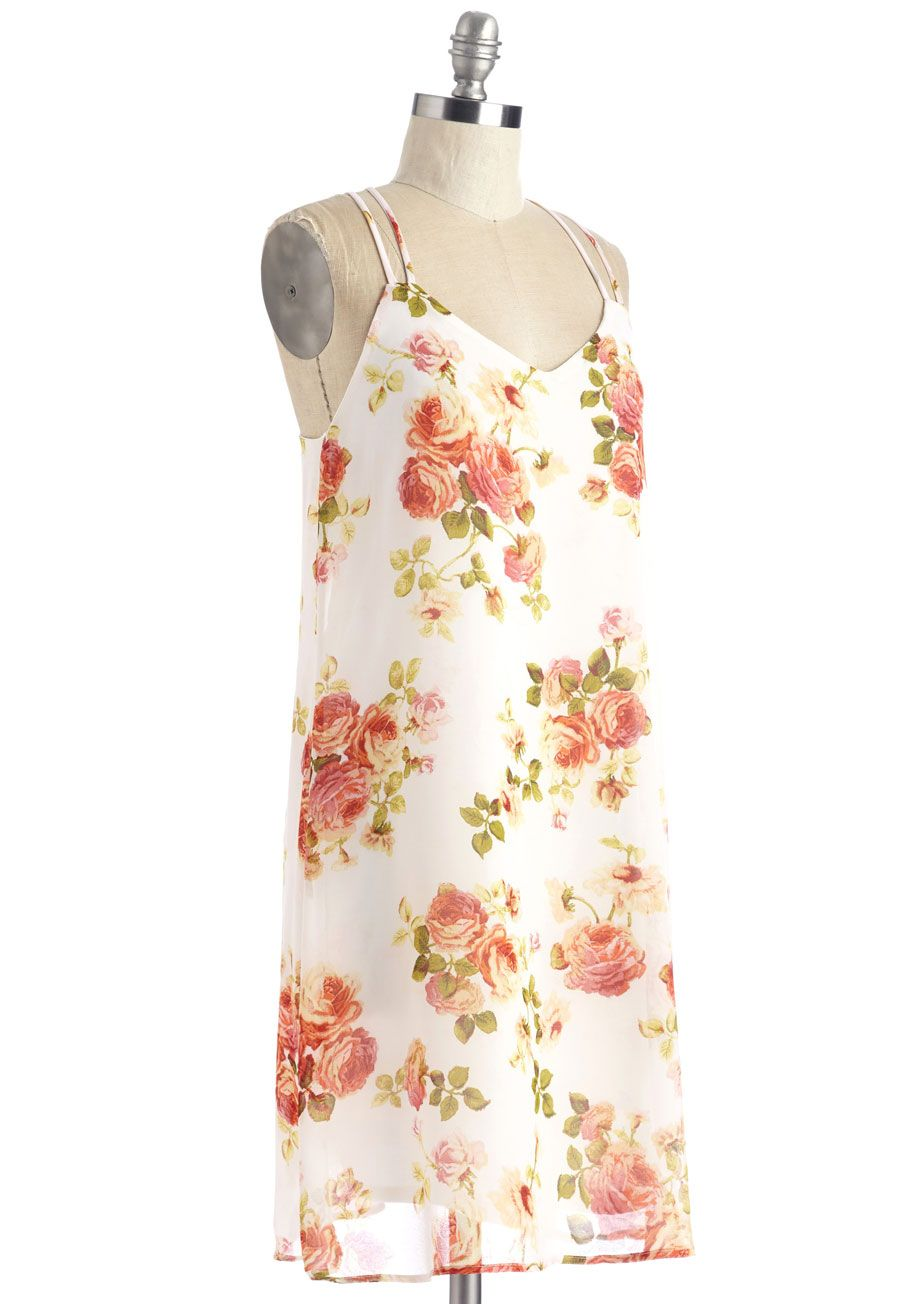 3e0fb1a0df0 Conservatory Reception Dress. Celebrate any occasion surrounded by  beautiful flowers - both those at the botanical gardens and the warm-toned  roses printed ...