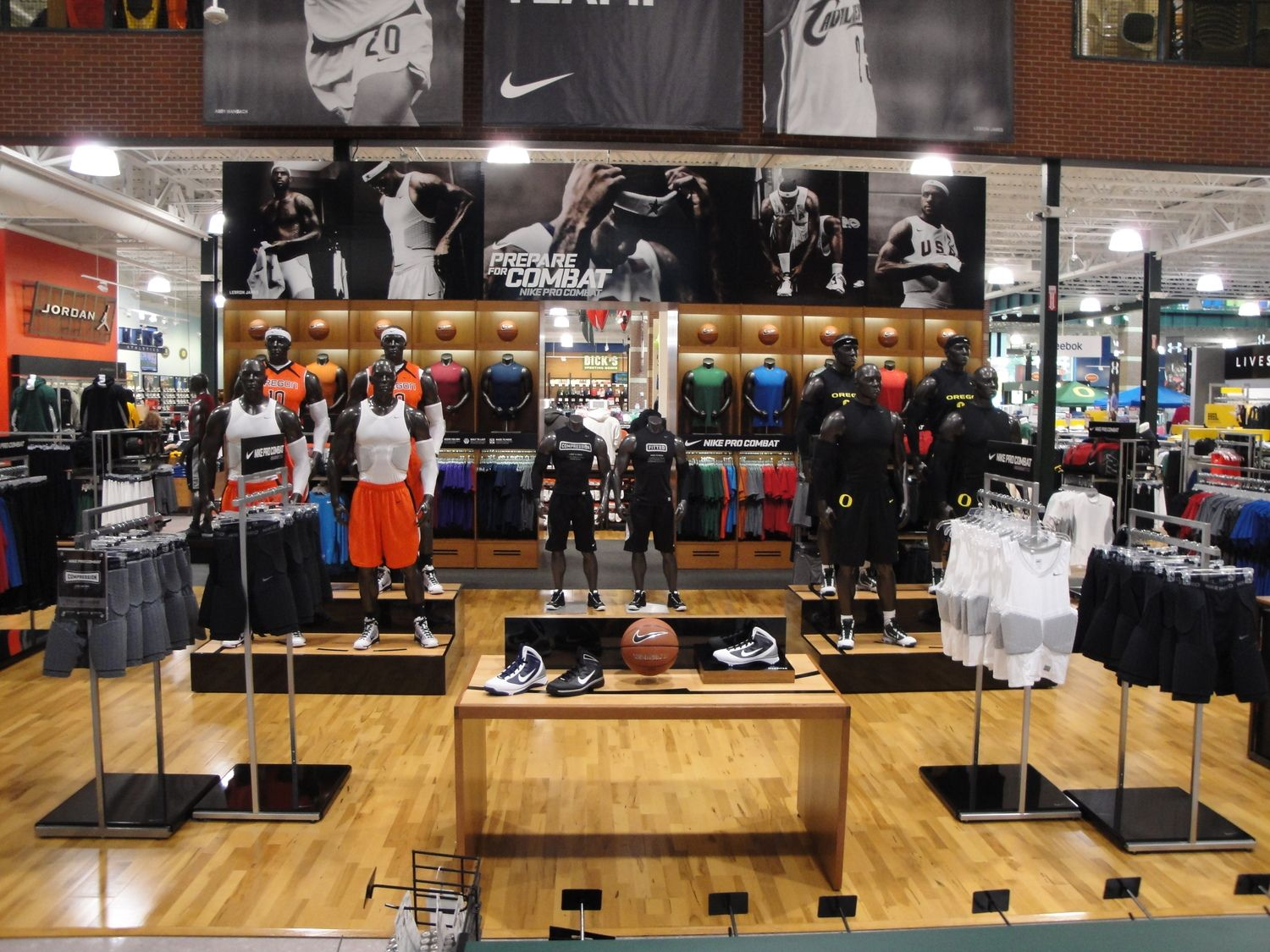 Image result for nike store merchandising