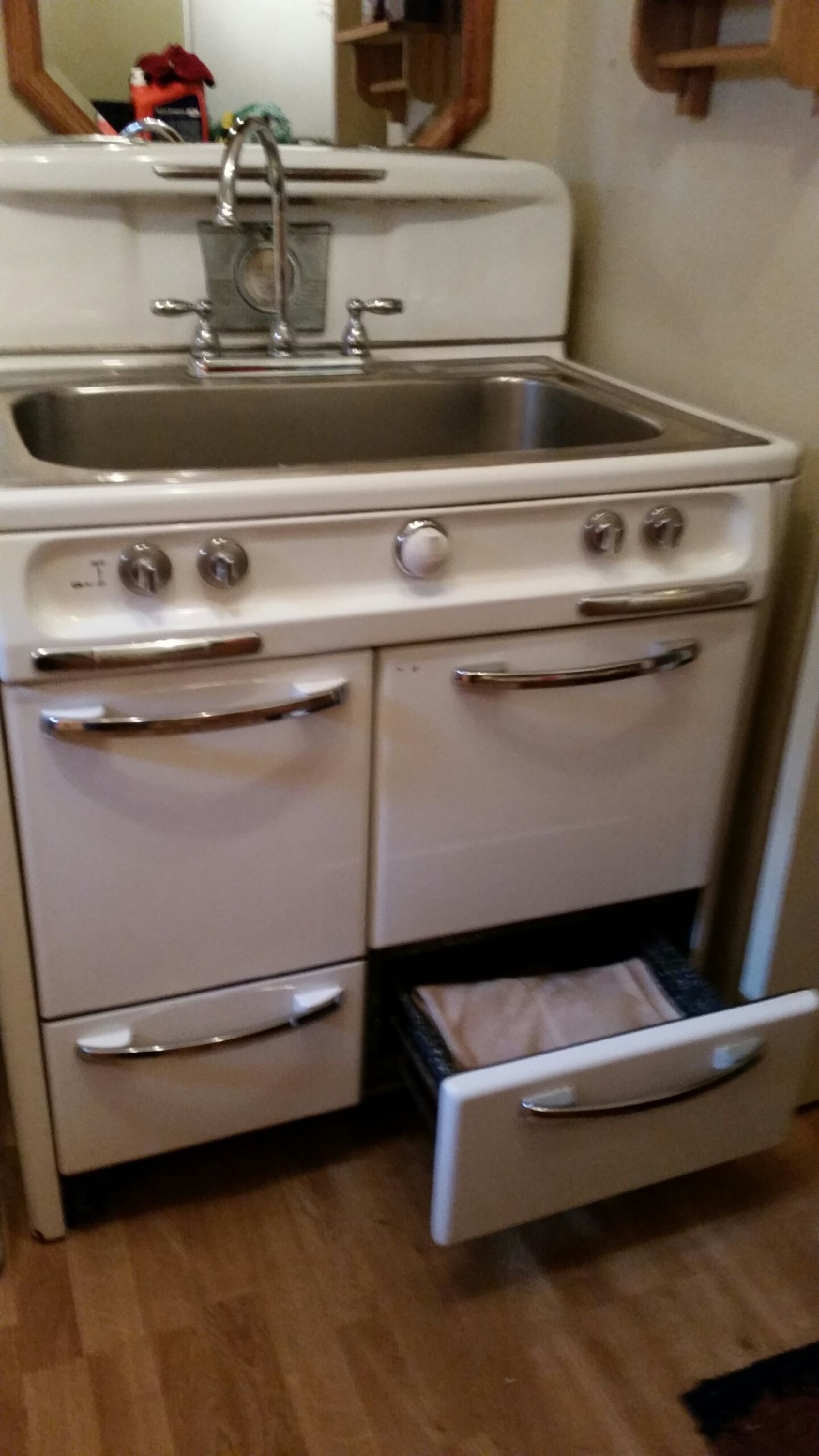 Farm House Sink,Rehabbed, Upcycle, Transform, Repurpose, Revamp, Refurbished, Laundry Room