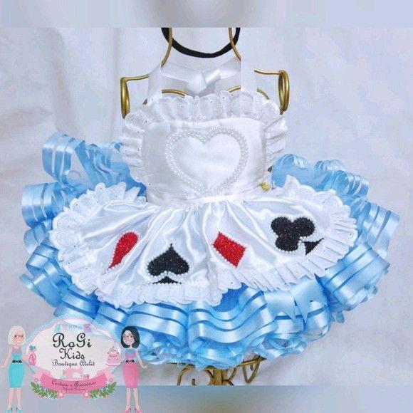 Conjunto Alice No Pais Das Maravilhas Vestido Alice No Pais Das