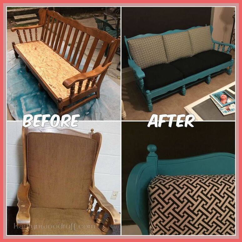 130 Reference Of Old Wooden Couch In 2020 Wooden Couch Sofa Makeover Couch Makeover