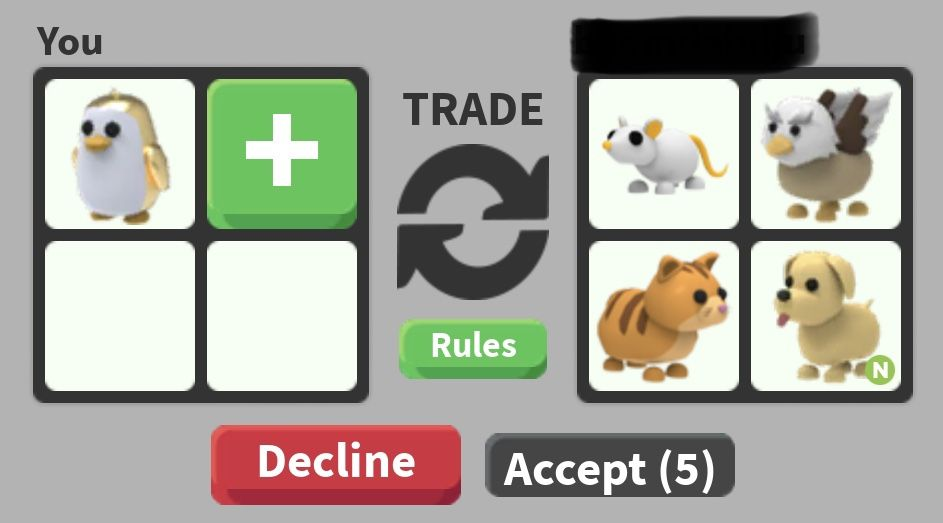 Pin By Kitty On Roblox Adopt Me In 2020 Roblox Adoption Trading
