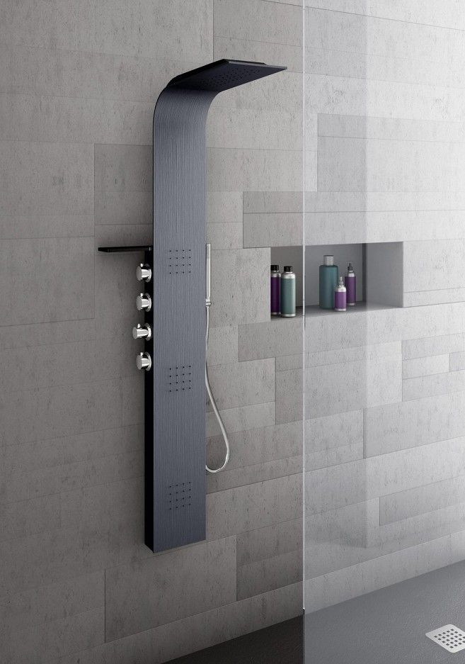 Contemporary Shower Head Style For Elegant Bathroom Interior