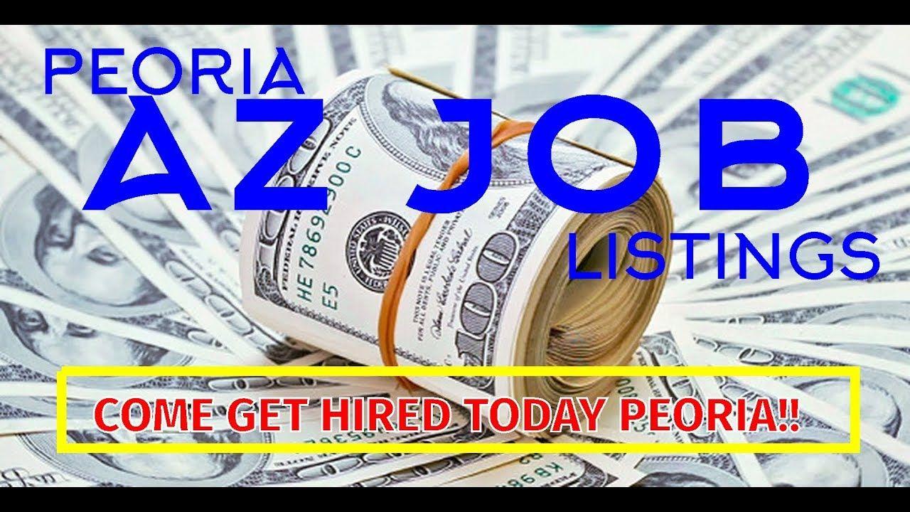 Peoria AZ Job Listings   Interstate moving, Life hacks ...
