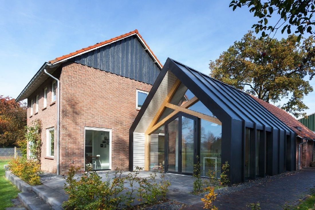 AccessoriesArchitecture Modern Residence Houses Walls Roofs Doors - Contemporary glass residence