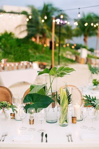 Gorgeous Beach Wedding Decoration Ideas ★ beach wedding decoration tropical we...#beach #decoration #gorgeous #ideas #tropical #wedding