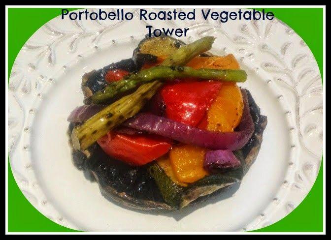 Portobello Caps Towers Vegan And Paleo Vegan Soul Food Vegan Bbq Recipes Healthy Food Swaps
