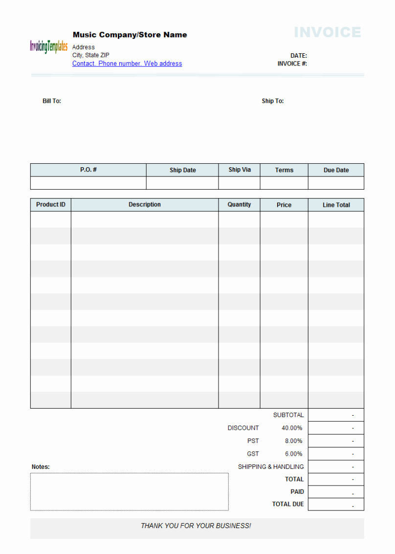 Free Editable Invoice Template Pdf Then Best S Of Download For With Fillable Invoice Template Pdf 10 Profess Invoice Template Templates Budget Template Free