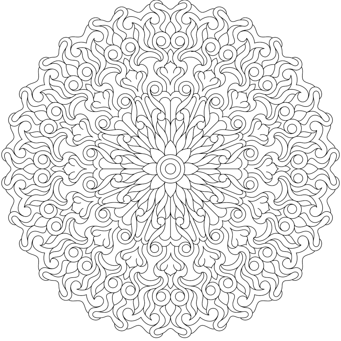 Coloring pages kindness - This Is Temple Of Kindness A Coloring Page For You To Print