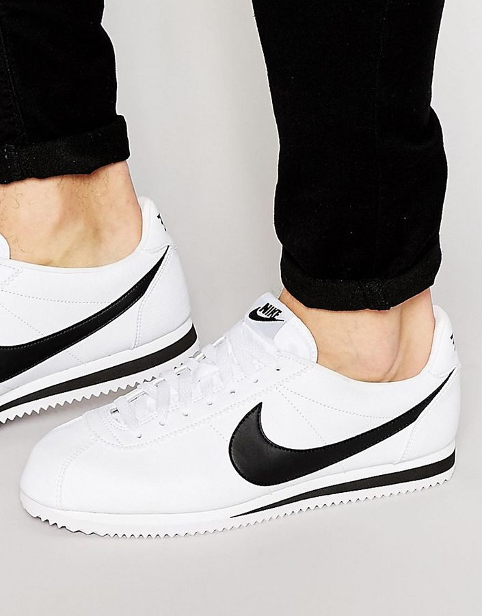 100% authentic b45cb 632f6 Nike - Cortez 749571-100 - Leder-Sneakers - Weiß