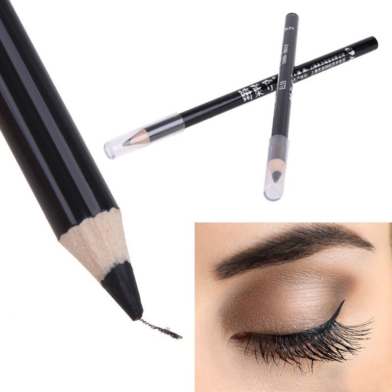 高品質ブラックアイライナースムース防水化粧品メイクアップアイライナーペンシル最高品質アイライナーに目永久 Eyeliner Potlood Eyeliner Potlood