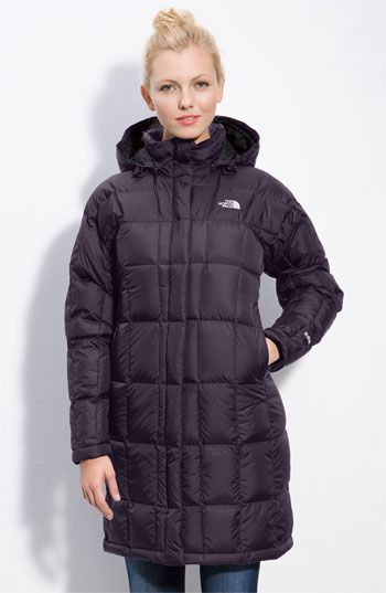 The North Face Metropolis In Eggplant Knee Length Is A Must Color Goes With Everything