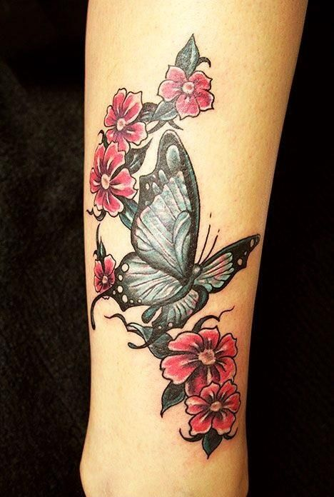 20 Wrist Butterfly Tattoo Ideas That Can Never Go Wrong For Any Girl Butterfly Tattoo Designs Butterfly With Flowers Tattoo Butterfly Tattoos For Women