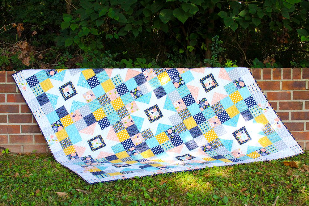 Starry Skies Free Quilt Pattern | Quilt patterns free, Quilt ...