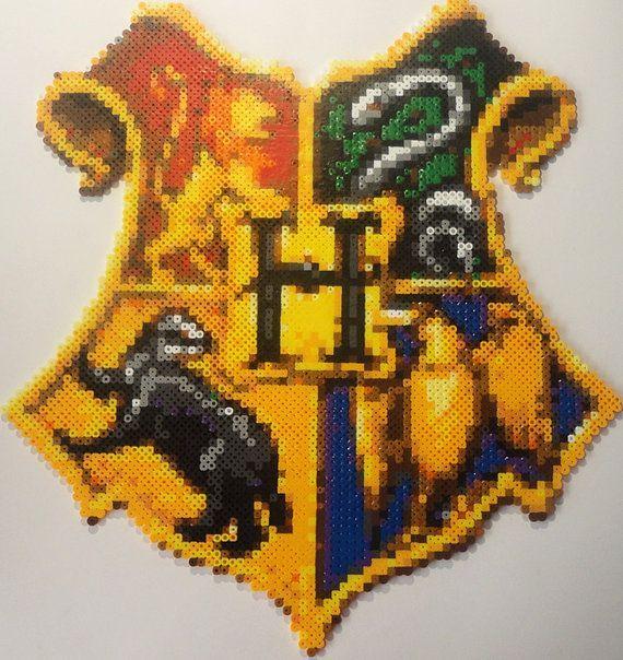 fuse box logo the best hogwarts crest perler the best of perler hamma  the best hogwarts crest perler the best of perler hamma