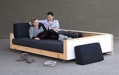 Twin Mattress Sofa Bed