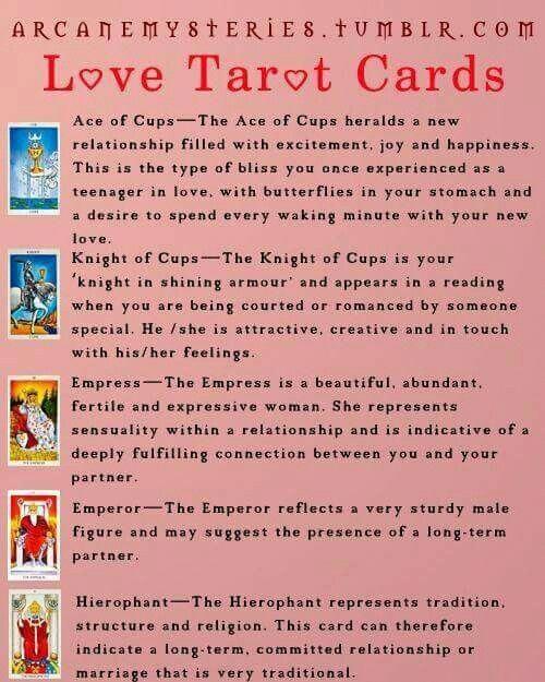 love tarot tarotcardsdiy  love tarot card love tarot