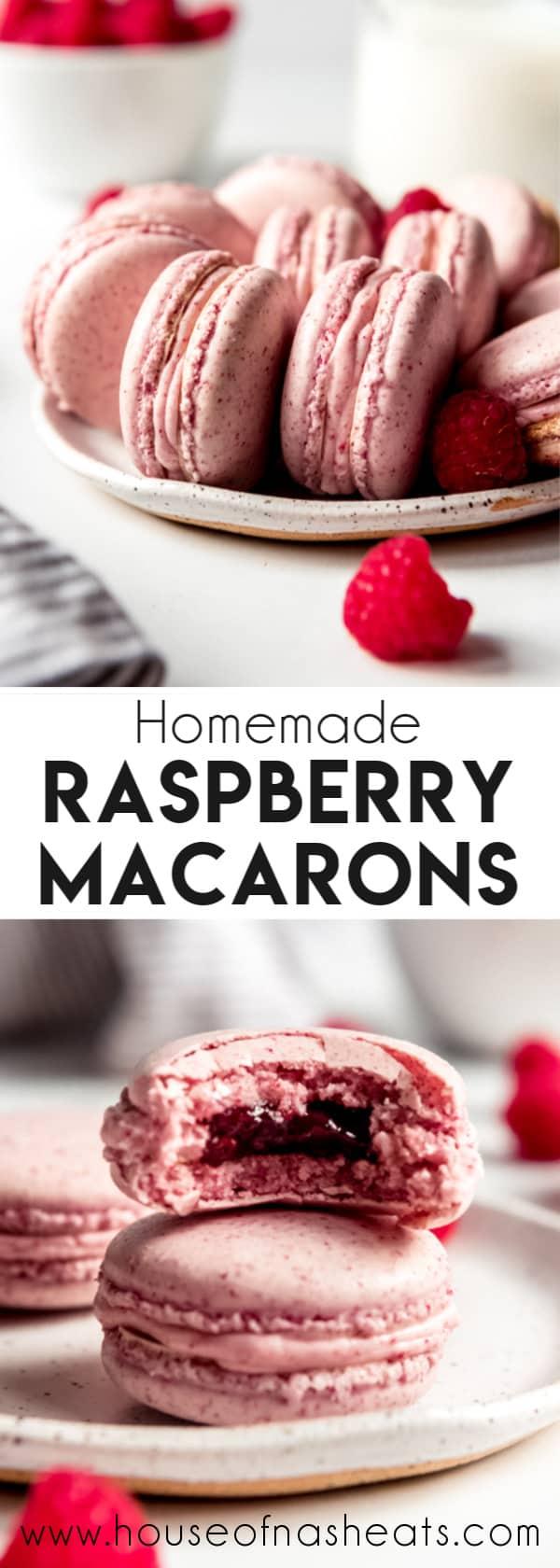 Raspberry Macarons - House of Nash Eats