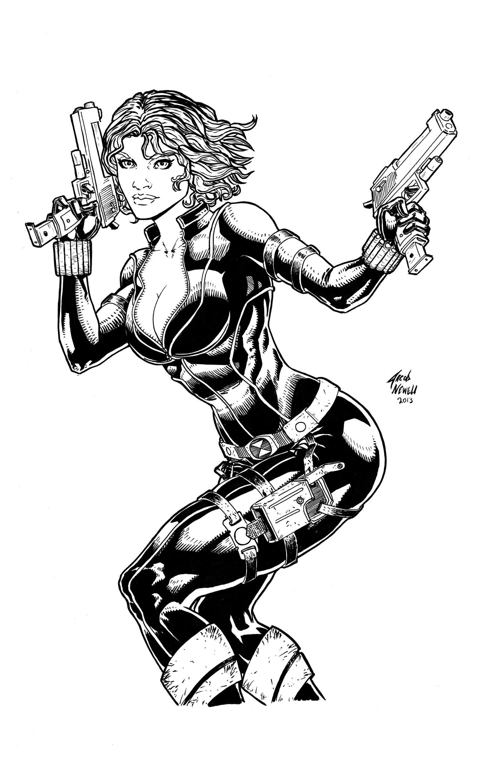 Black Widow Pch X Black White Ebony
