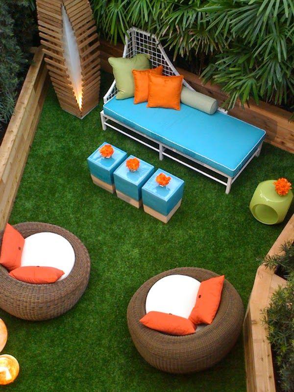 colori per la casa - blog arredamento - part 15   small patio and ... - Casa Diy Arredamento Pinterest