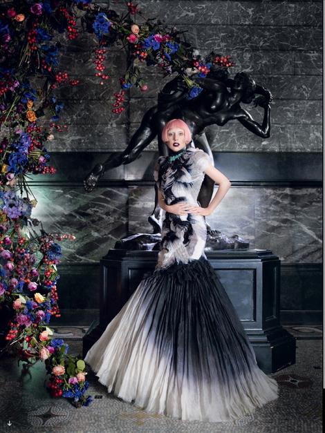 Mcqueen Dresses Lady Gaga