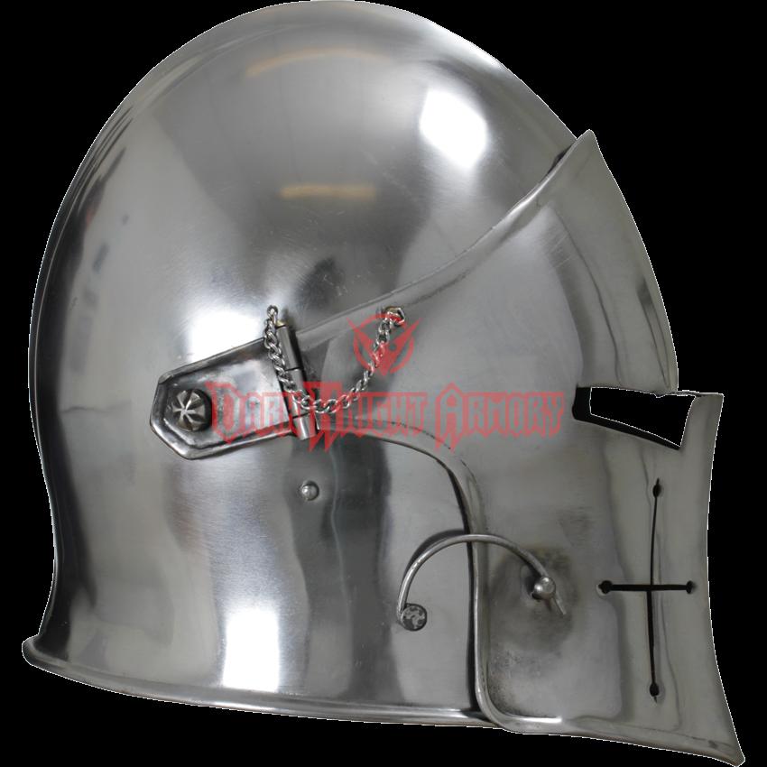 Visored Barbuta Helmet Medieval Helmets Medieval Knight Medieval Armor