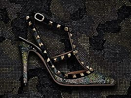 Valentino Rockstud Collection SS 2013 - Swarovski Elements