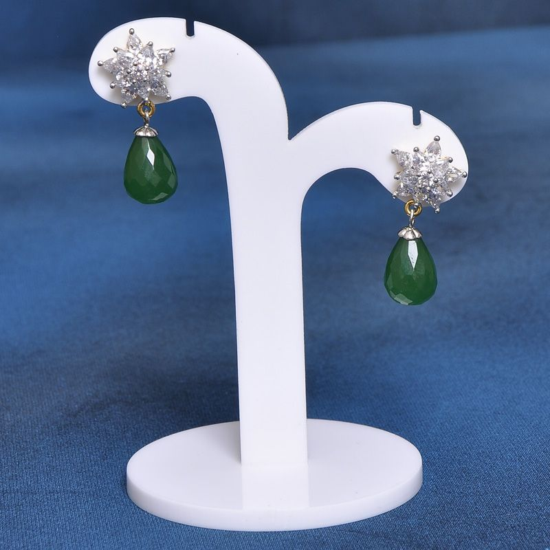 Cute American Diamond Tops EarringsJEPREM0000140