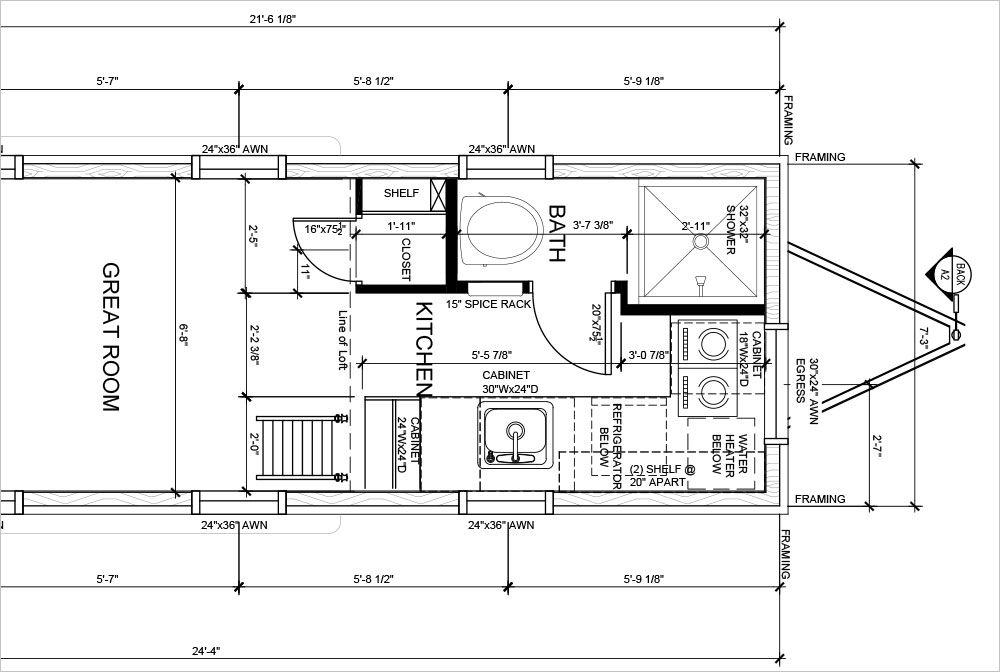 Example Image House Plan with Security Layout Dimensions in - programme pour plan de maison