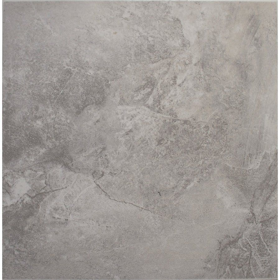 Shop avenzo 13 in x 13 in storm gray ceramic indoor floor tile at lowe 39 s canada find our - Lowes floor tiles porcelain ...