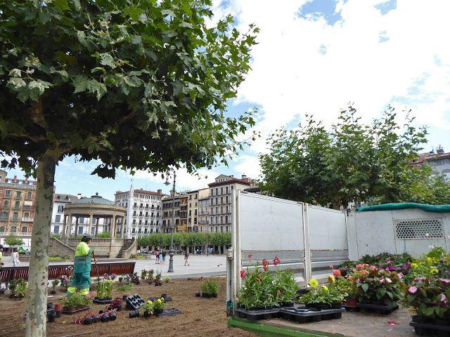 Adoquines y Losetas JardinesPlaza del Castillo Parques y