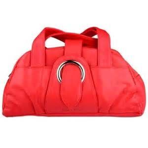 04c5ed9868a99 Casa di Borse red leather handbag 14