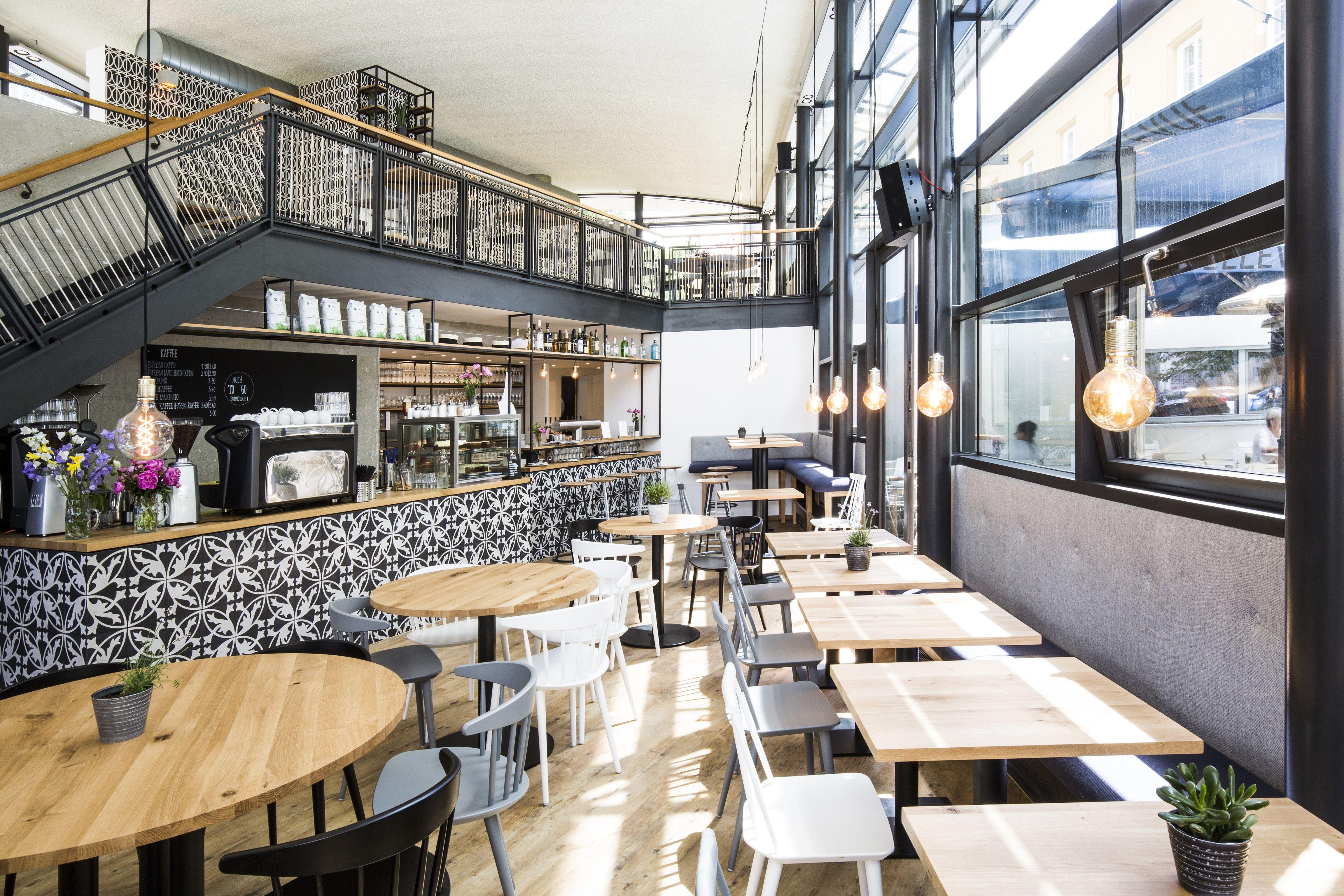 Bellevue - Café - Restaurant - Bar - Interior Design - Studio Yaya ...